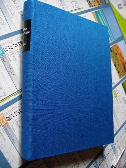 la nuit reliure bleue IMGP0534