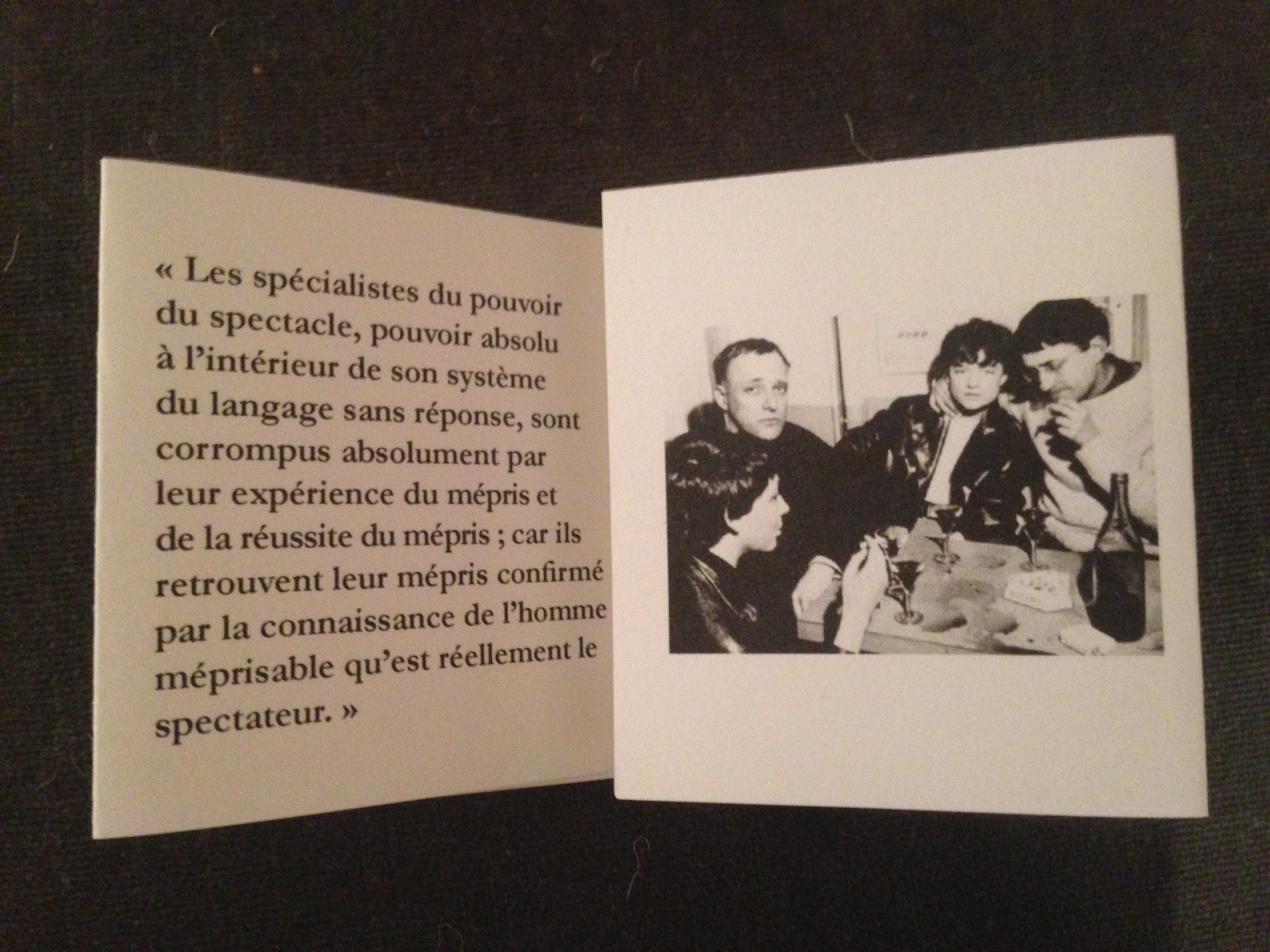 guy debord black box 2014 by les editions derriere la