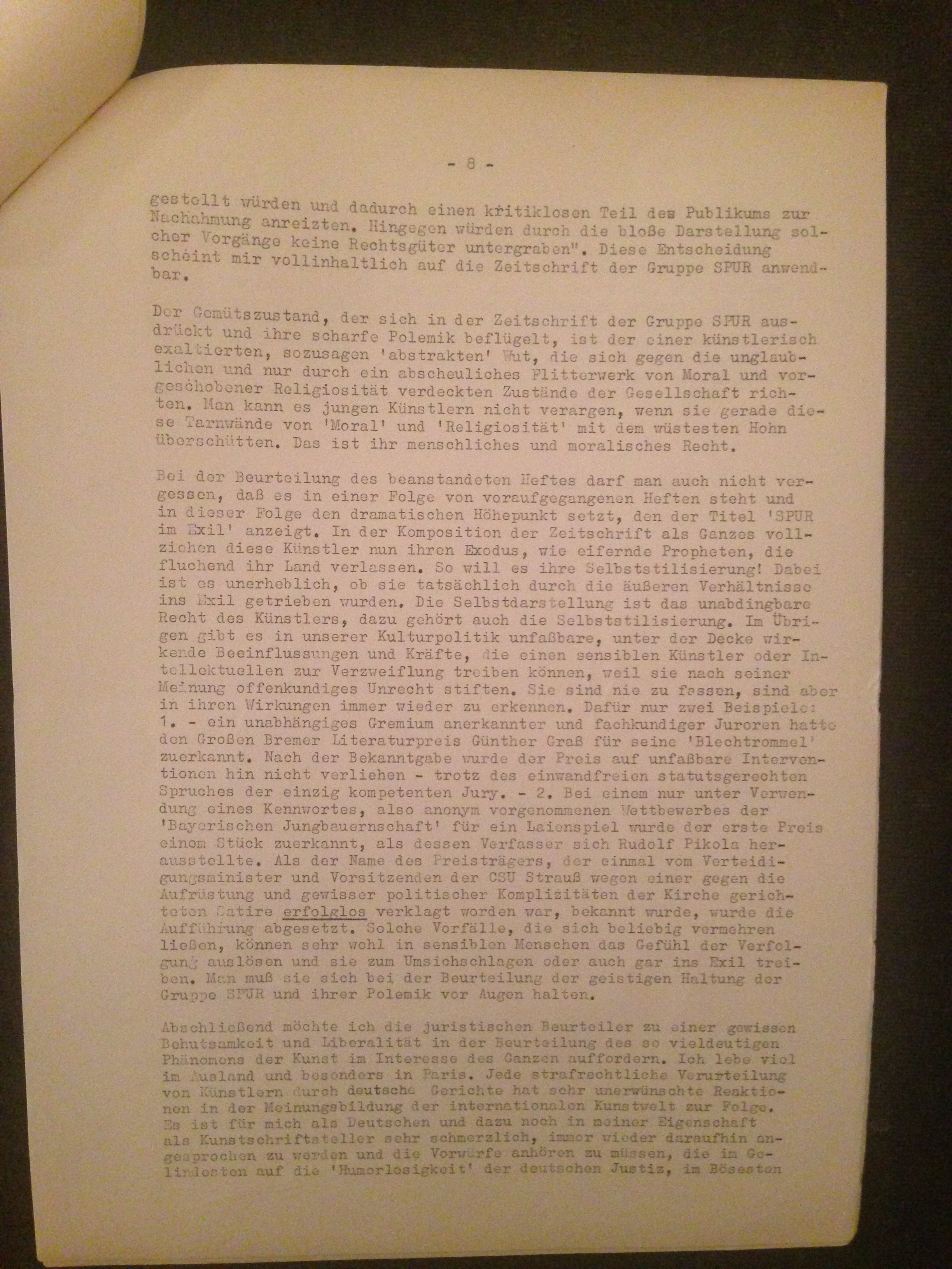 words from letters spur trial letters amp ephemera 1962 situationniste 3594